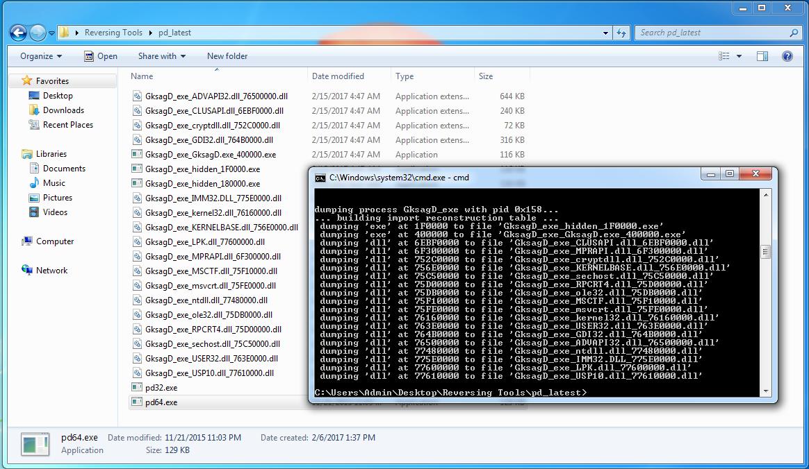Unpacking: Dridex bootloader