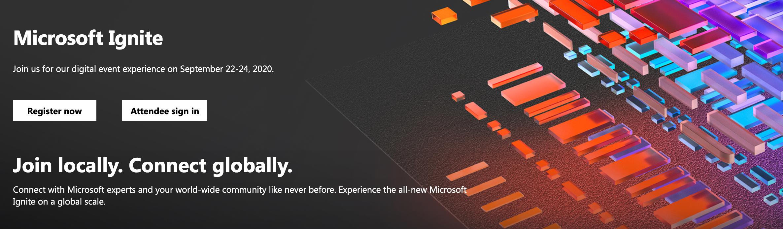 Microsoft Ignite 2020. Программа, бесплатное обучение и запись на персональные консультации с экспертами