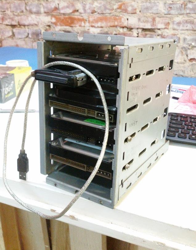320GB Brick Storage