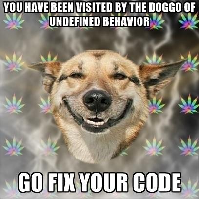 Неопределённое поведение != Небезопасное программирование