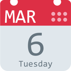 This SVG always shows the current date of