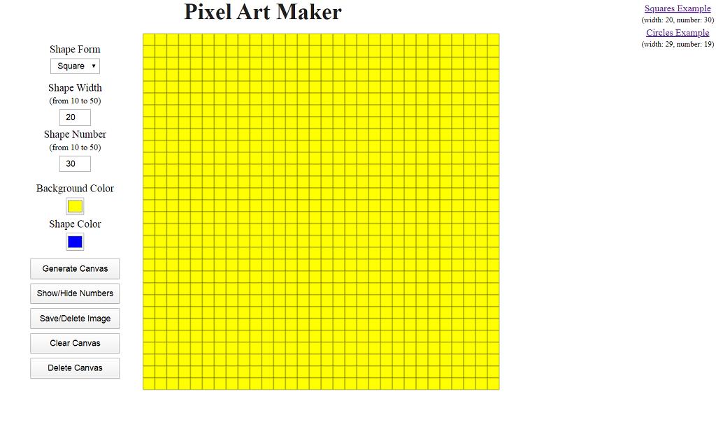 Пишем Pixel Art Maker на чистом JavaScript — IT-МИР. ПОМОЩЬ В IT-МИРЕ 2020