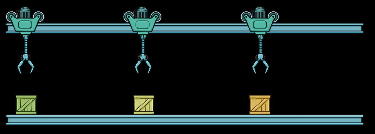 Конвейер в микропроцессорах транспортер на ниву ск 5