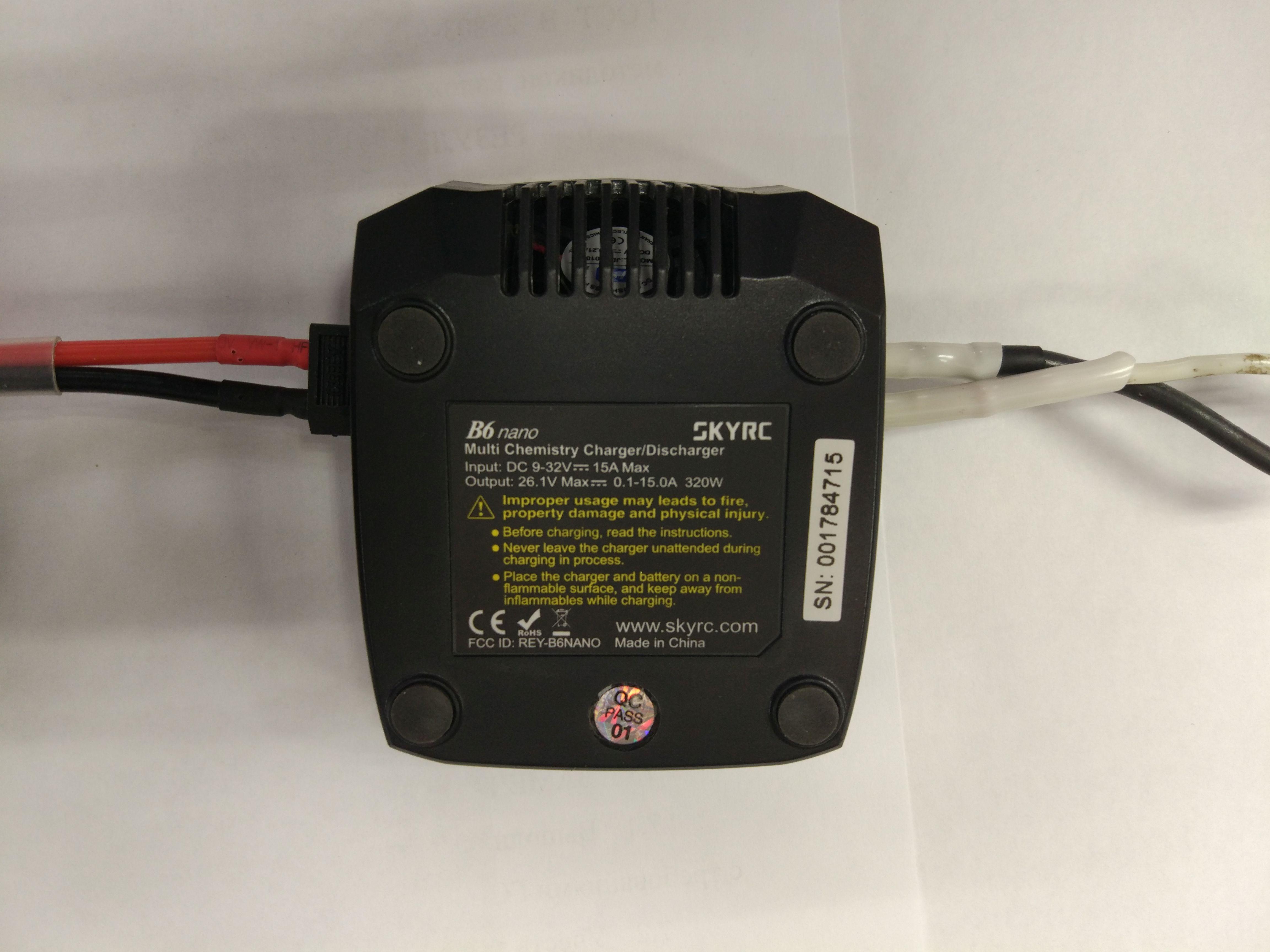 [Из песочницы] Обзор и тестирование зарядного устройства SkyRC B6 Nano