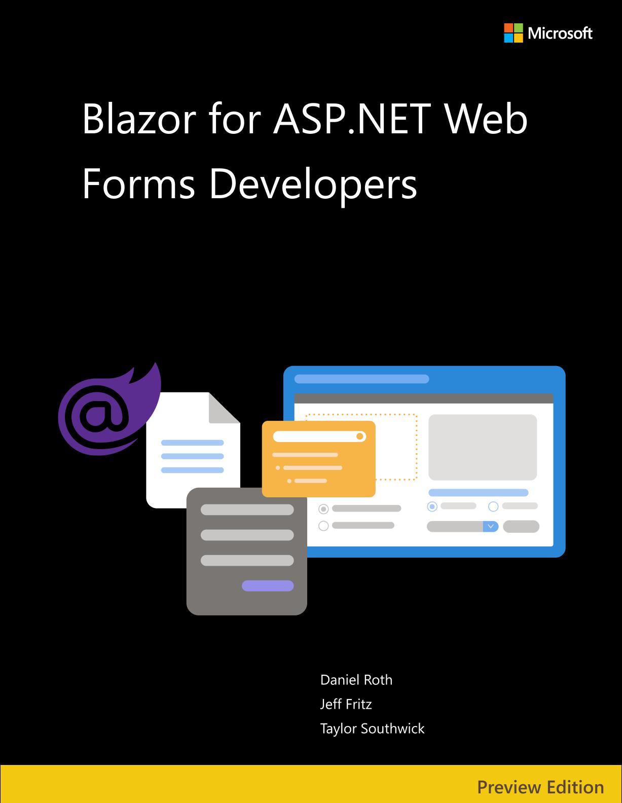 Бесплатная электронная книга на русском Blazor для разработчиков ASP.NET Web Forms