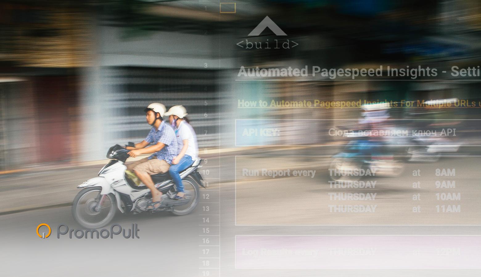 Автоматизируем получение данных о скорости загрузки сайта из Google PageSpeed Insights [шаблон]