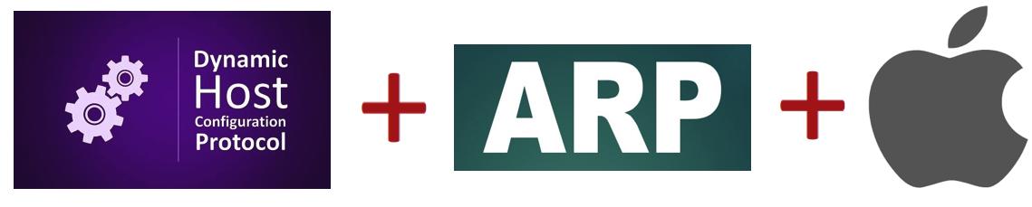 Атакуем DHCP часть 4. DHCP + ARP + Apple = MiTM
