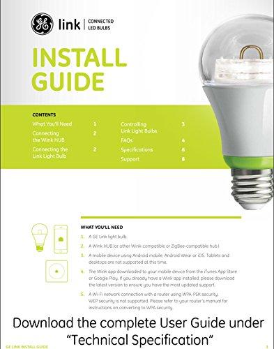GE Link Bulb (работают с Wink Hub)