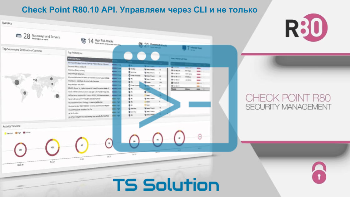 Check Point R80.10 API. Управление через CLI, скрипты и не только