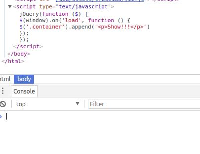 Почему не работает jquery onload в yii2? — Toster ru