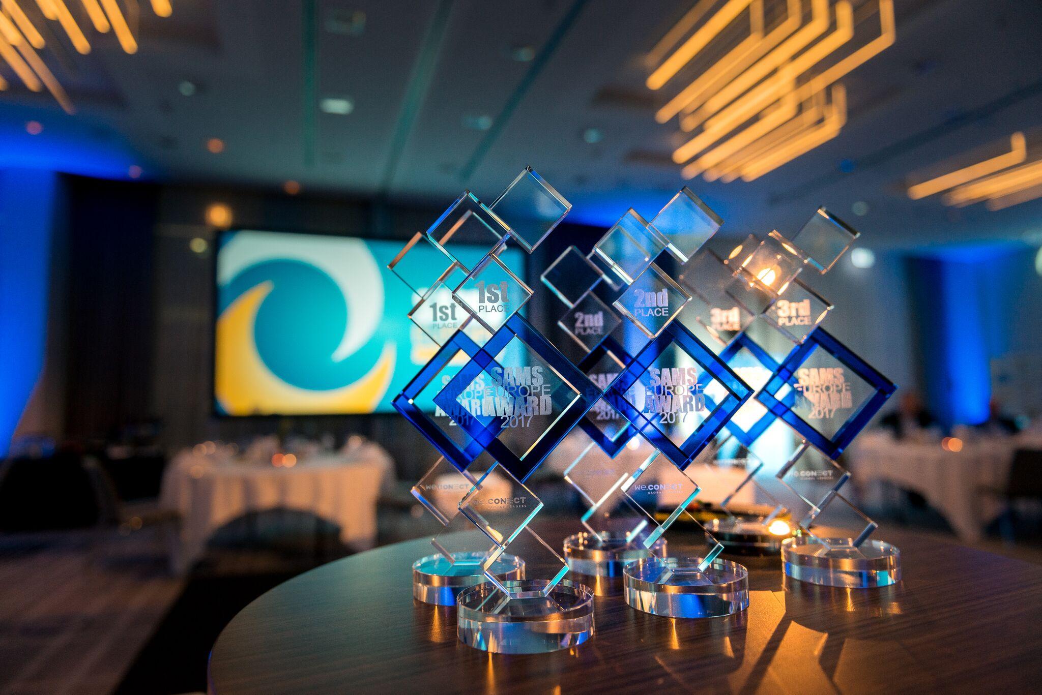 Райффайзенбанк на SAMS Europe Award 2017