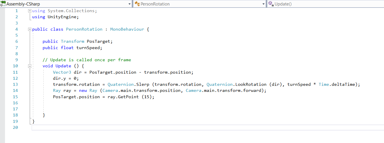 Unity: NullReferenceException: Object reference not set to
