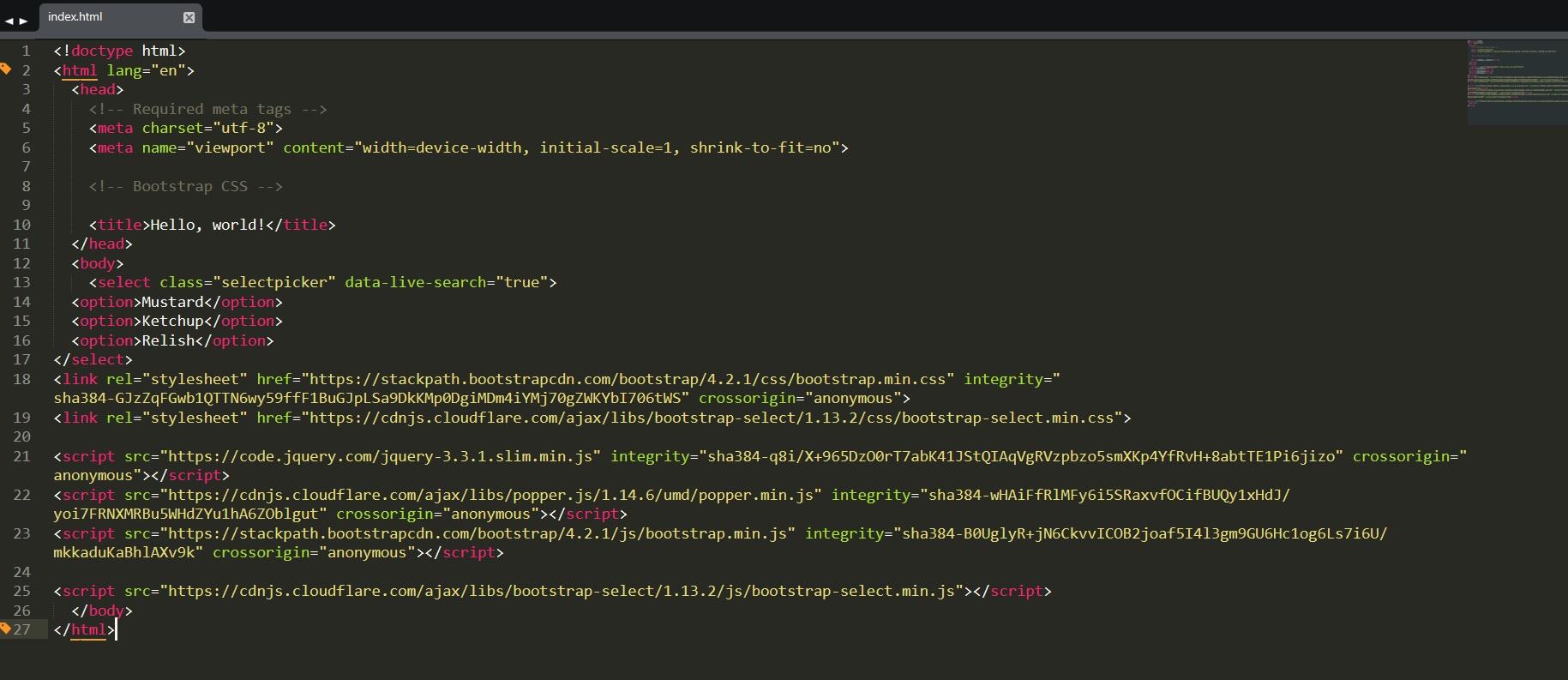Почему не применяются стили bootstrap-select к bootstrap? — Toster ru