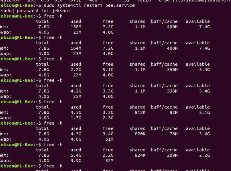 Как освободить RAM на web-сервере uwsgi? — Toster ru