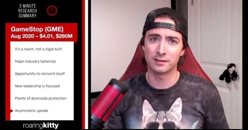 Ревущий Котёнок даст показания в Палате представителей по делу GameStop