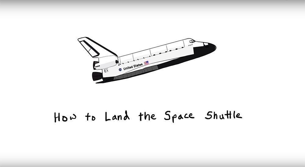 Как посадить Space Shuttle из космоса