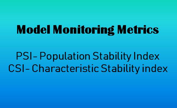 Перевод Индексы PSI и CSI  лучшие метрики для мониторинга работы модели
