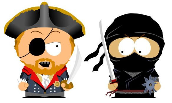 Pentest or Red Team? Pirates against the ninja