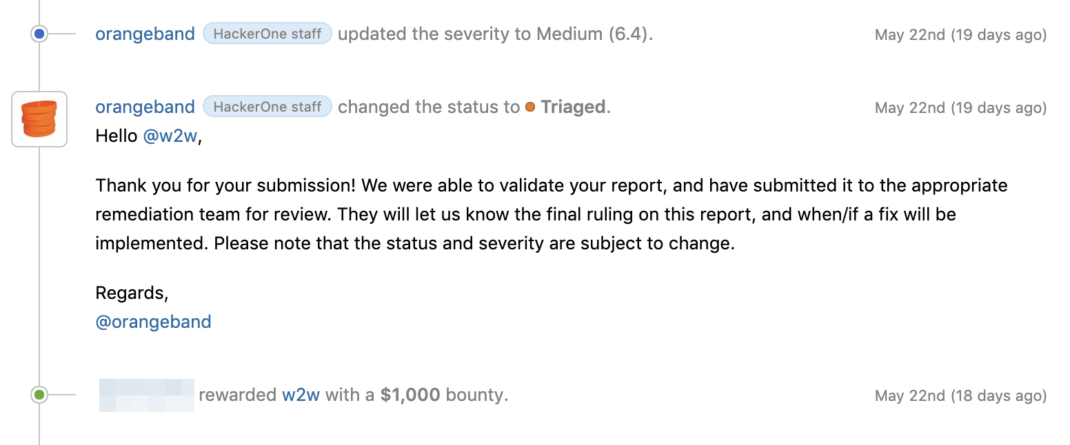 Operation cookie-based XSS | $ 2300 Bug Bounty story