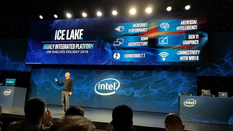 Intel представила десятое поколение процессоров Ice Lake с шагом 10 нм