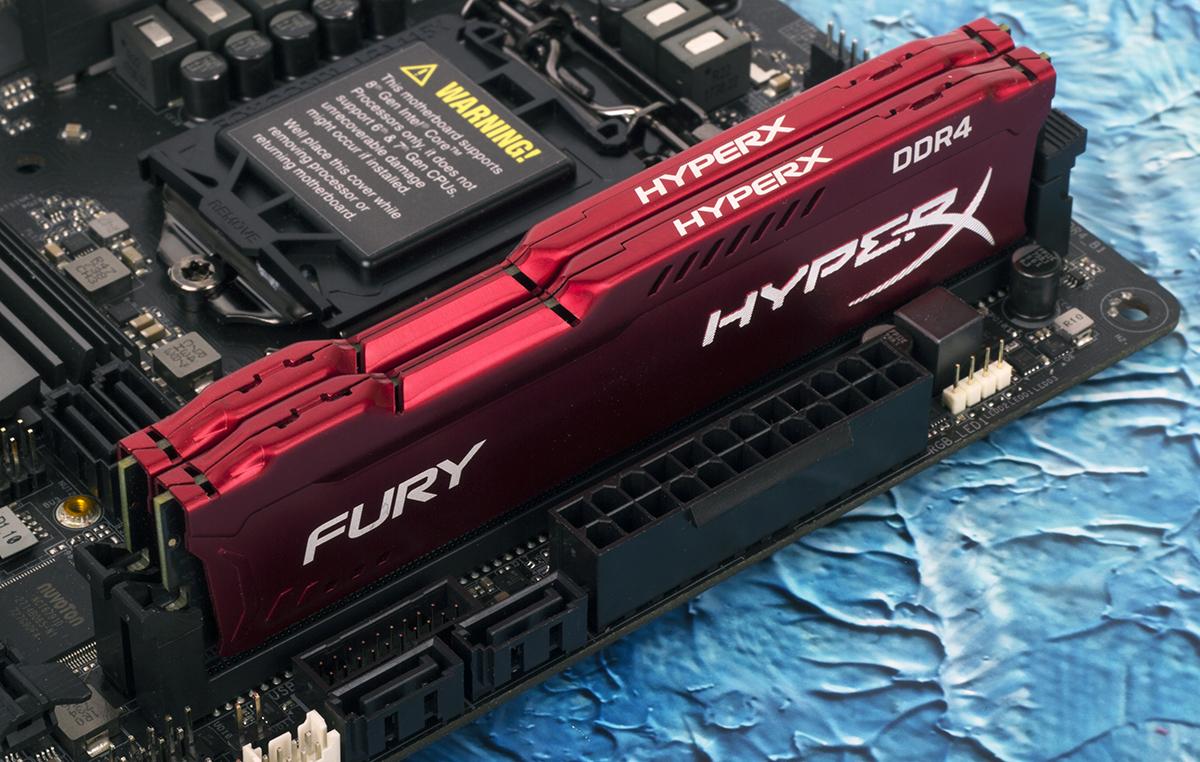 Зачем флагманскому процессору топовая память? Тестирование комплекта HyperX Fury DDR4-3466