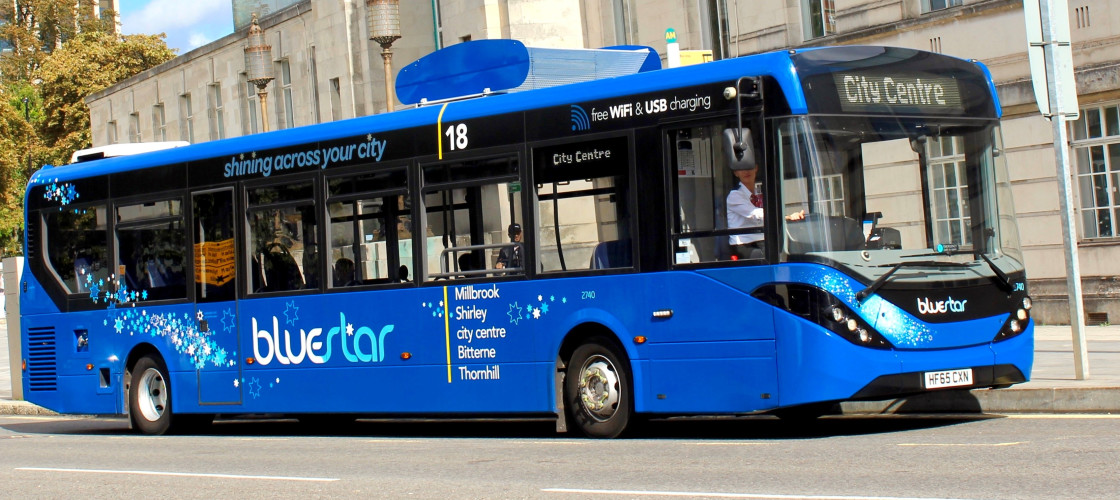 Bus filter from Southampton - the first step to cleaner cities