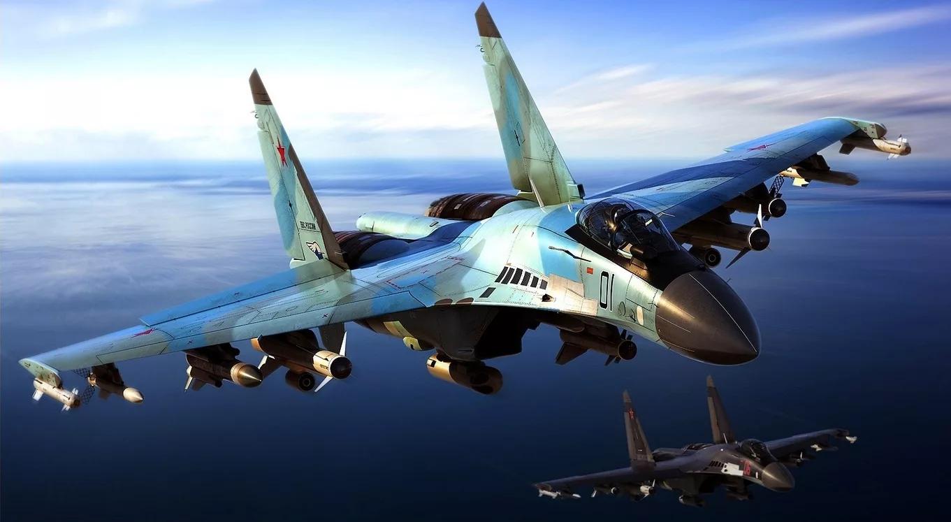 Обои многофункциональный истребитель поколения 4 плюс, глубоко модернизированный, плюс, сверхманевренный. Авиация foto 2