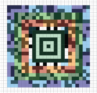 Коды step-by-step: Aztec Code