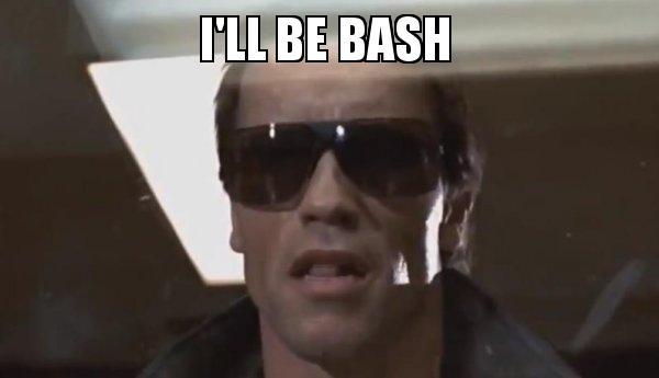 I'll be bash