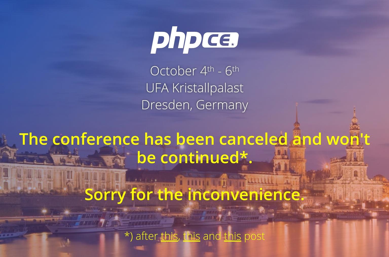 Конференцию PHP Central Europe отменили из-за того, что среди выступающих не оказалось женщин