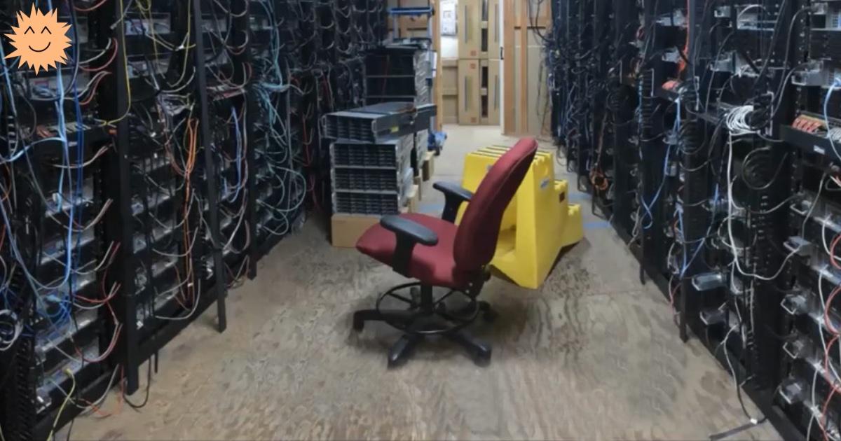 На каких серверах держится Архив Интернета?