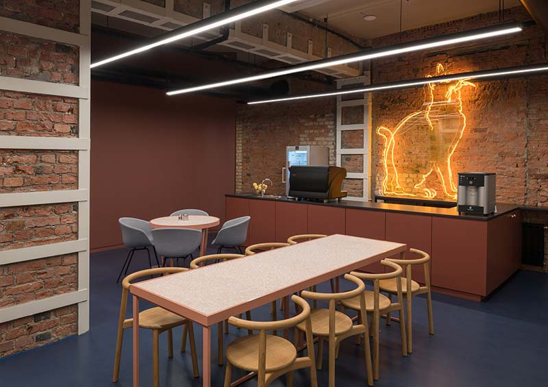 Cafe for office staff