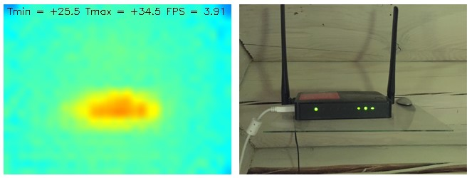 Making a DIY thermal camera based on a Raspberry Pi / Habr