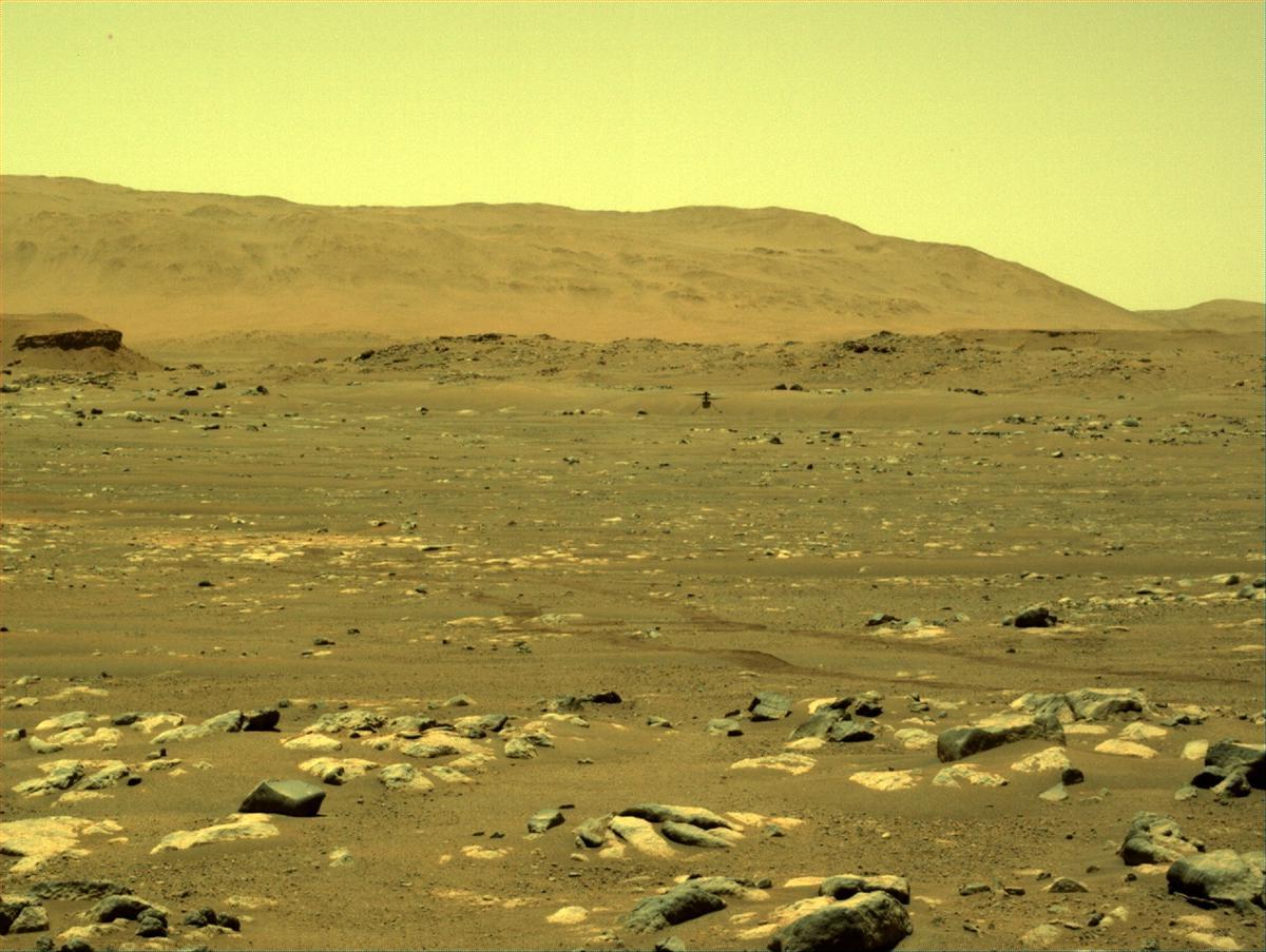 NASA готовит вертолёт для Марса