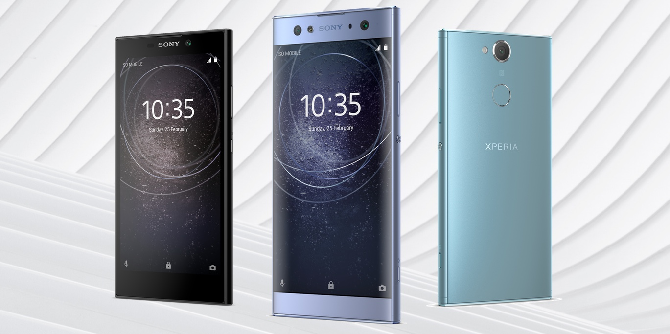 Новинки Sony: Xperia XA2 Ultra, Xperia XA2 и Xperia L2