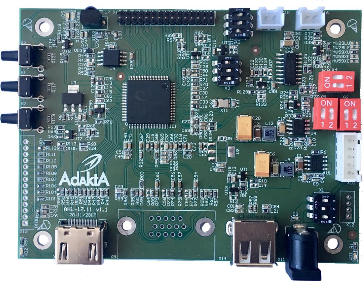 HDMI-LVDS. Разработка на TSUMV59 от MStar