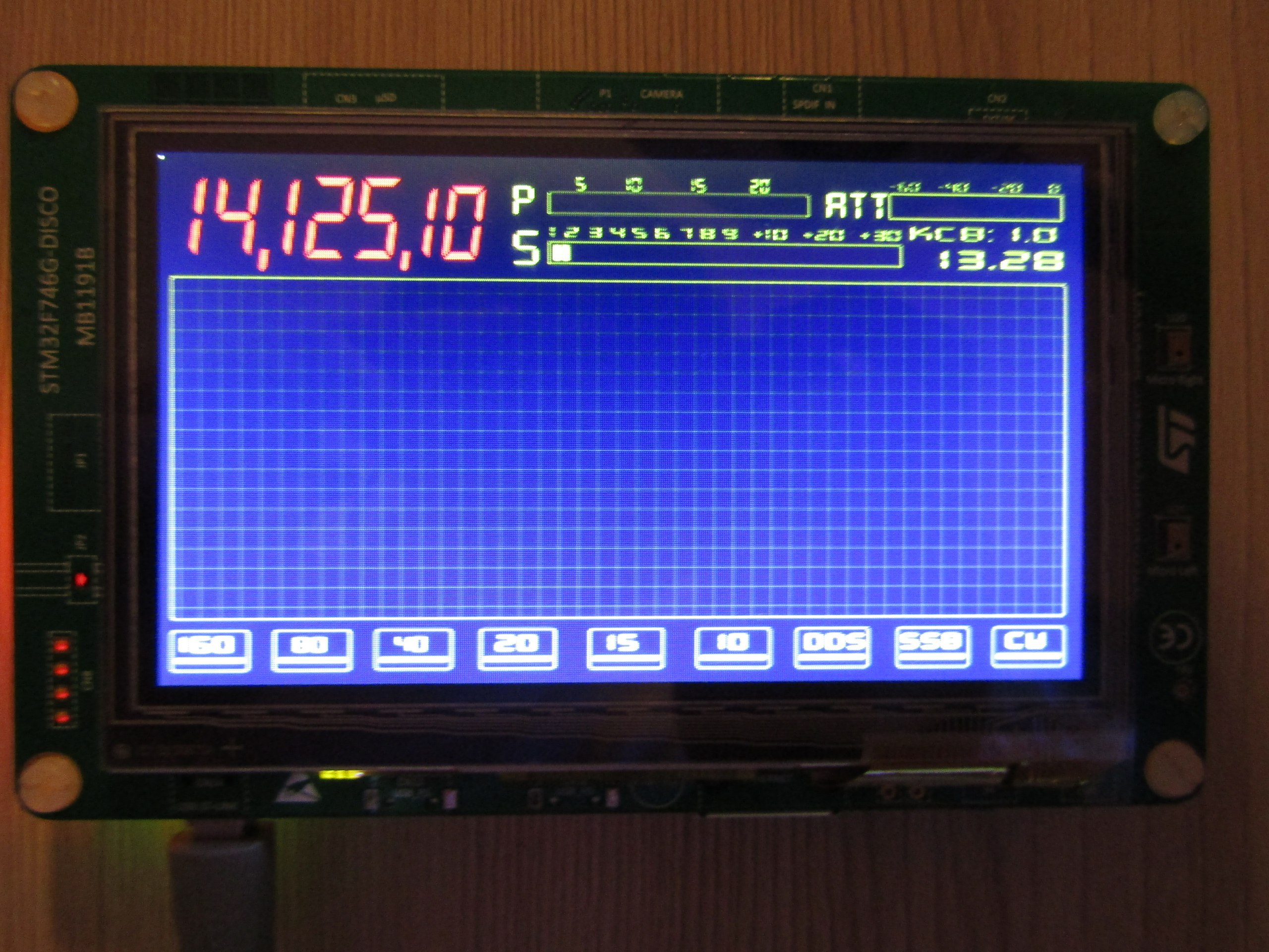 Запускаем дисплей на STM32 через LTDC… на регистрах / Хабр