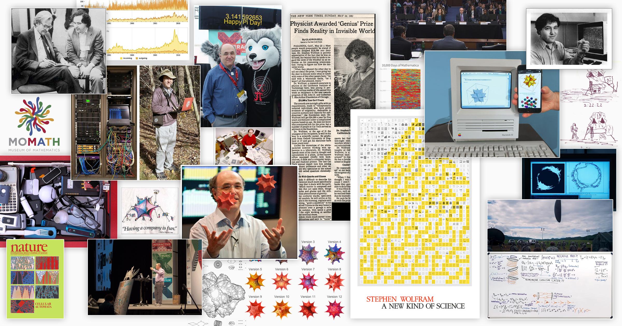 Моменты жизни Стивена Вольфрама — создателя Mathematica, Wolfram|Alpha, A New Kind Of Science и много чего ещё / Wolfram Research corporate blog / Habr