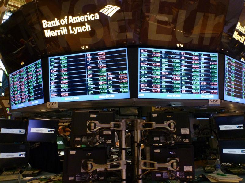 Рынок криптовалют сравнялся по объему торгов с Нью-Йоркской фондовой биржей