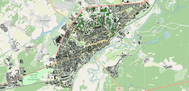 Из песочницы Рассказ об этапах работы над картой возраста домов Владимира