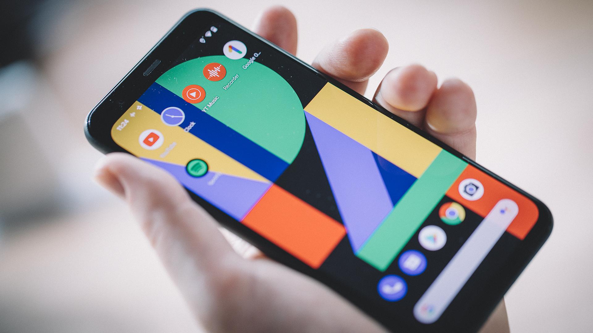 Экран Google Pixel 4