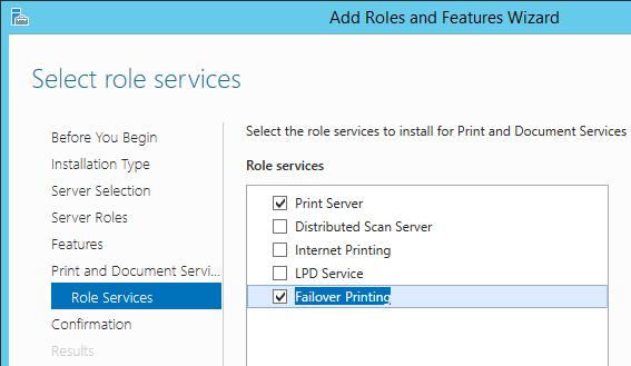 Отказоустойчивый сервер печати на базе Windows