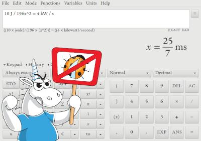 По следам калькуляторов: Qalculate