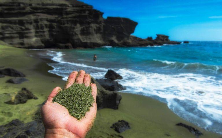 Из песочницы Оливиновый песок очистит воздух от углекислого газа