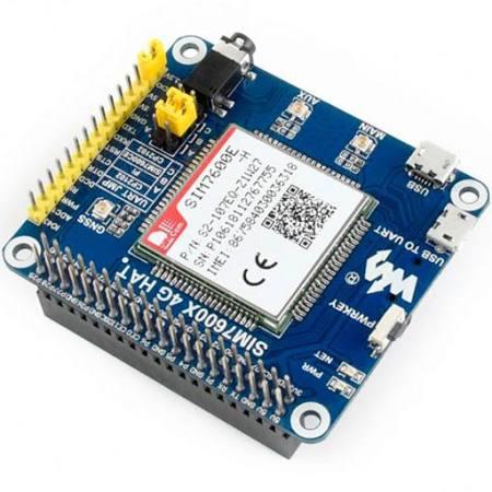 [Из песочницы] Raspberry Pi и модем SIM7600E 4G HAT
