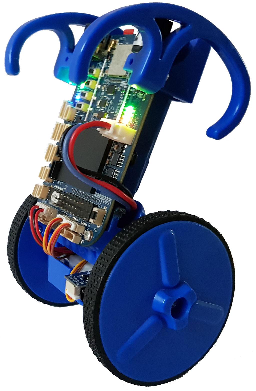 Run ROS on the self-balancing robot EduMIP