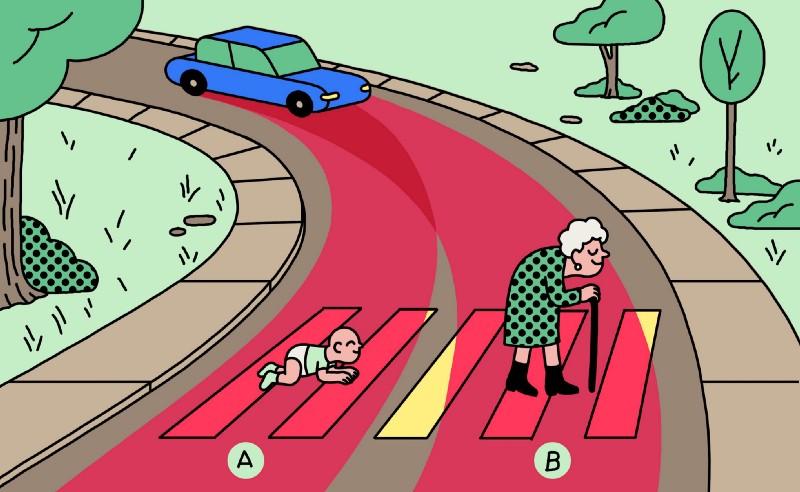 [Перевод] Кого должны давить автомобили с самоуправлением: детей или старушек?