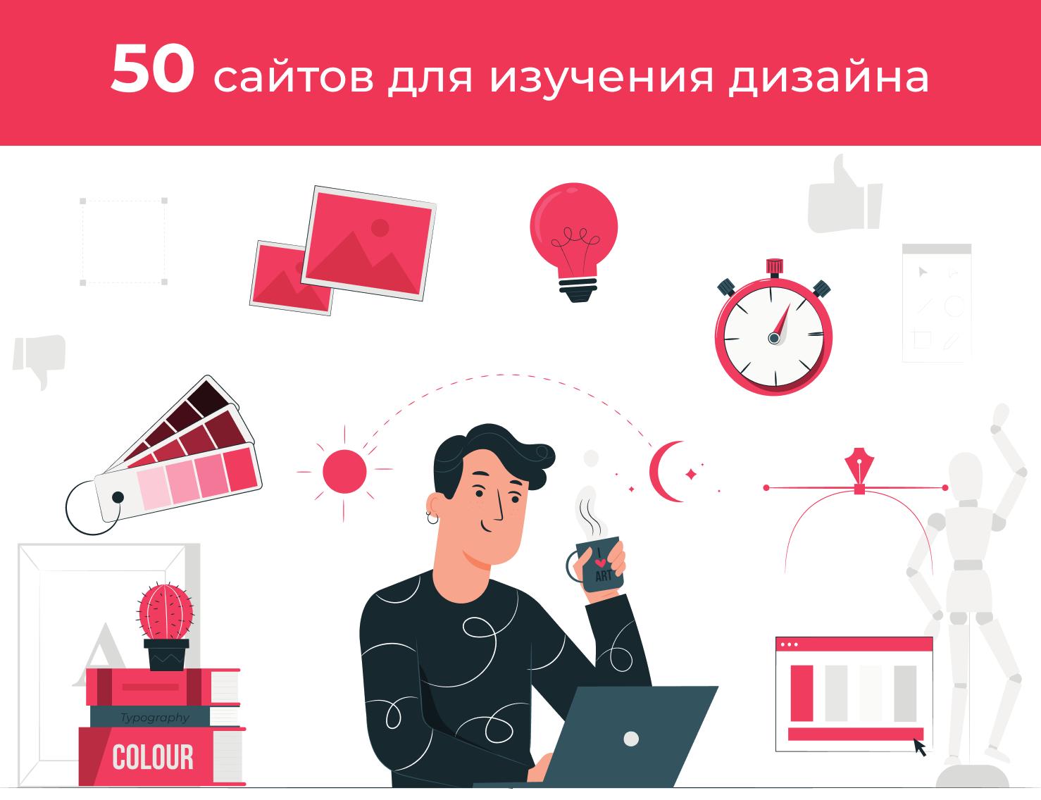 50 сайтов для изучения дизайна