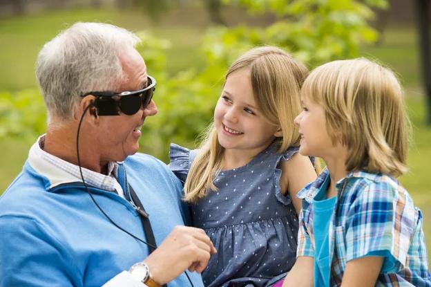 Искусственный глаз для слепых людей