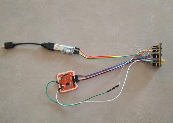 Захват криптоключей Mifare и копирование ключей домофонов IronLogic своими руками / Хабр